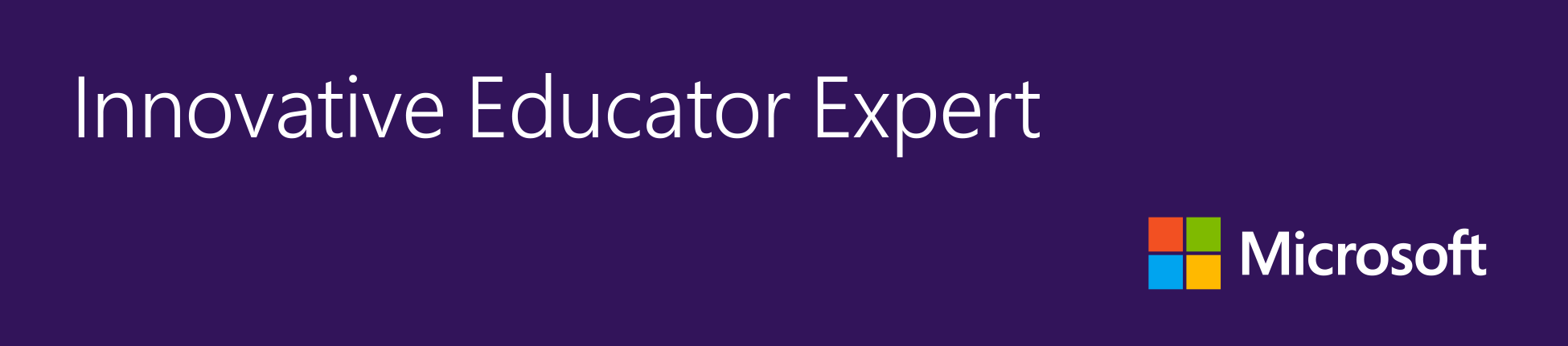 Microsoft Innovative Expert Educator
